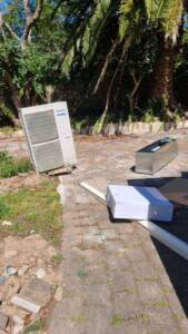 Ducted air conditioning replacement at Manly
