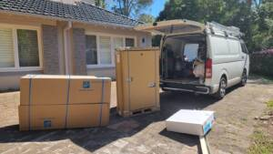 New Daikin ducted system ready to install at Manly