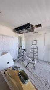 Ducted air conditioning system replacement at Neutral Bay