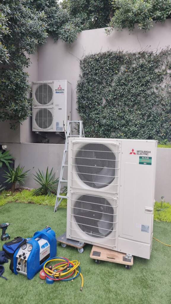 Ducted system replacement at Neutral Bay