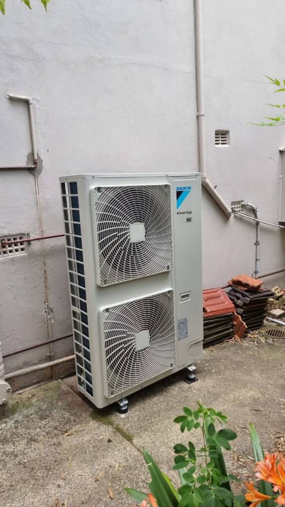 Ducted air conditioning system installation at Manly